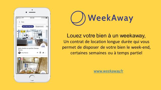 site, Weekaway, logement