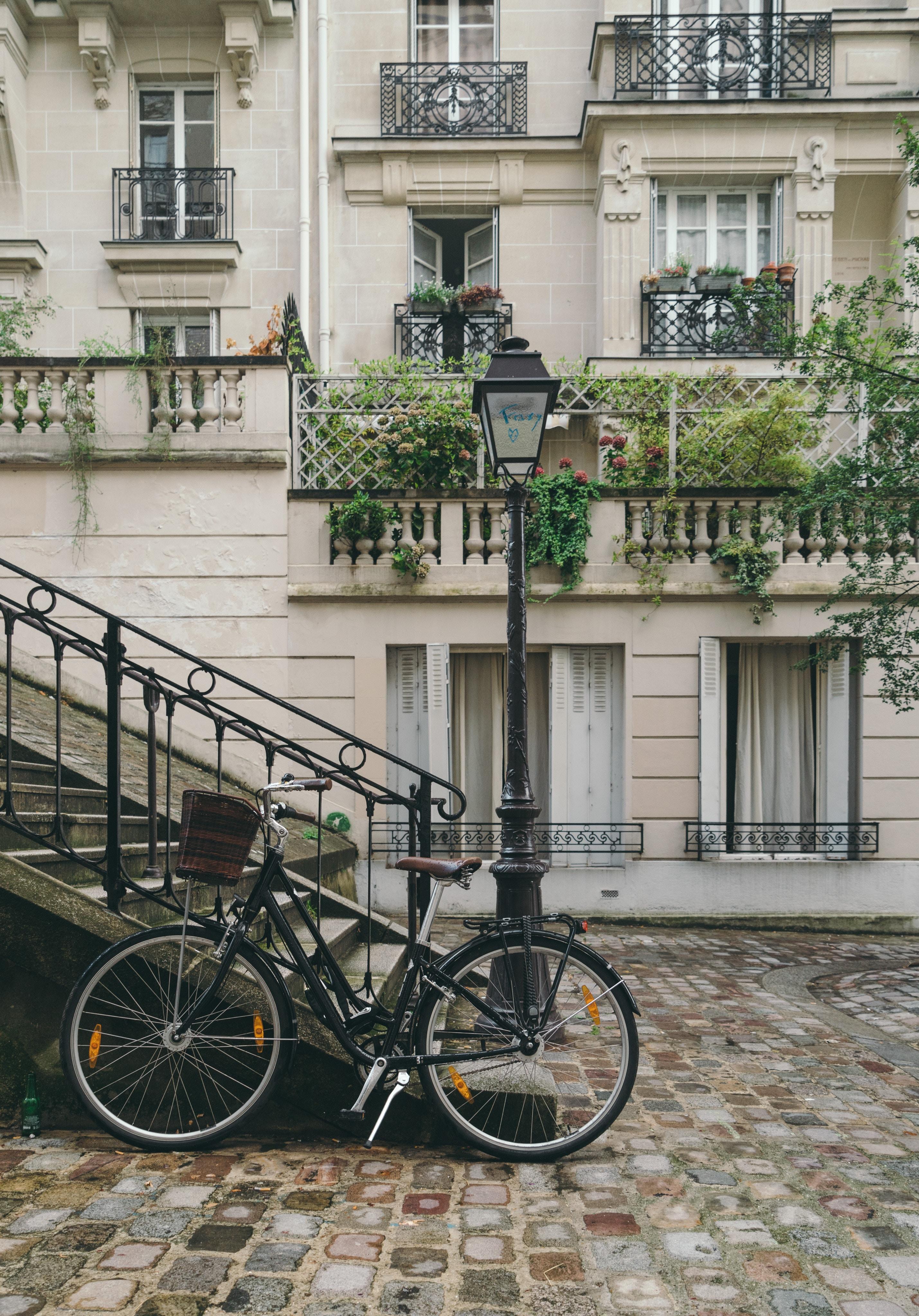 immeuble, Paris, vélo
